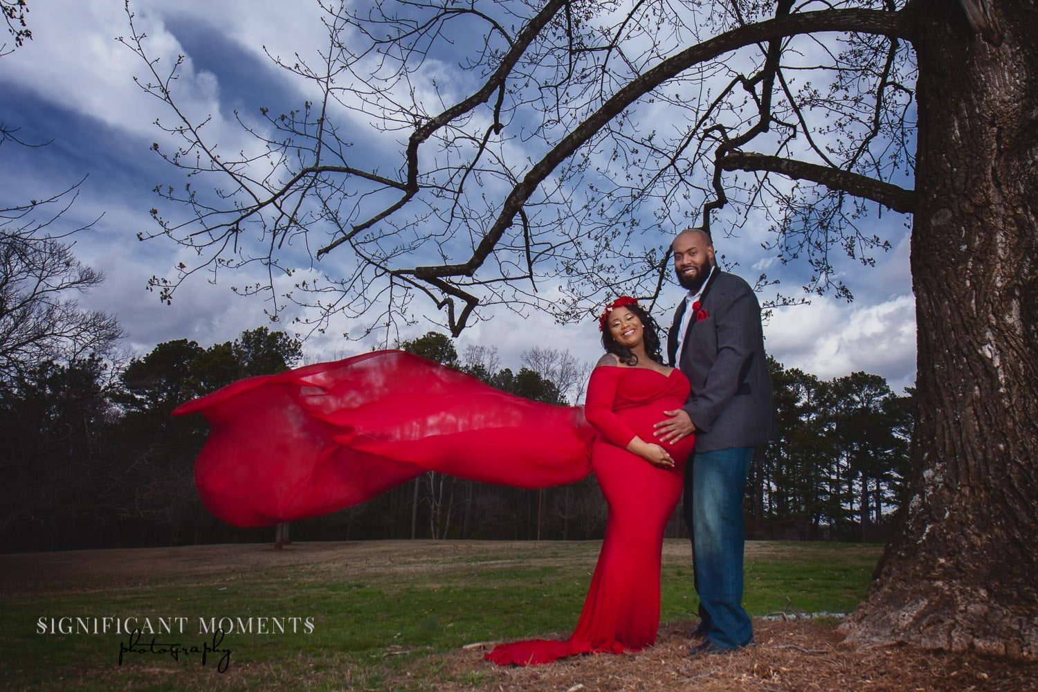 maternity photography atlanta couple
