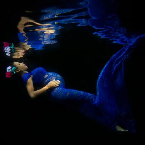 atlanta underwater maternity photographer